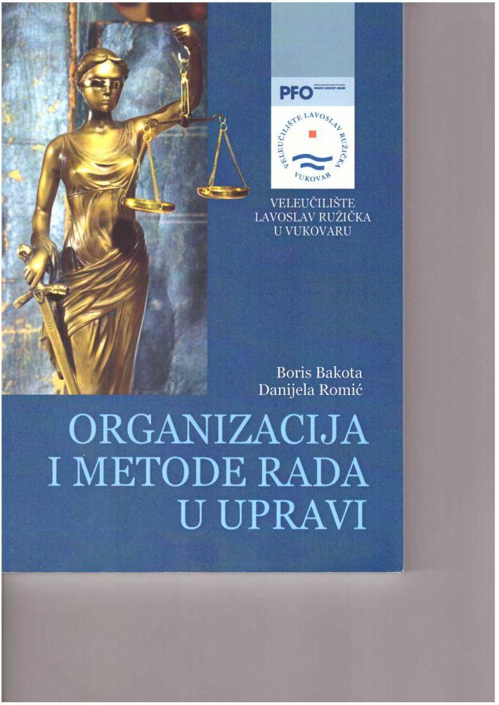 Organizacija i metode rada u upravi